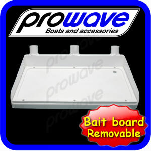 Removable bait board top only sml 01