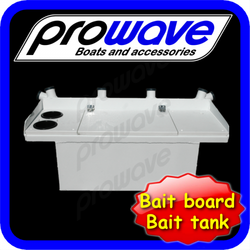 bait board with live tank