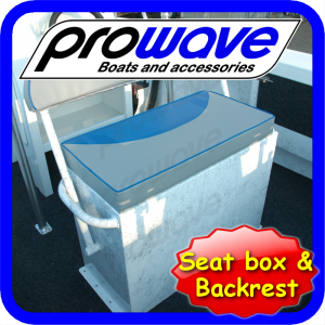 Seat box 600L x 400W x 750H with swinging backrest 01