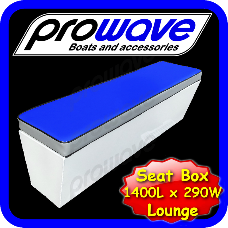 Details about boat rear lounge or seat box 1400l x 290w x 365h mid