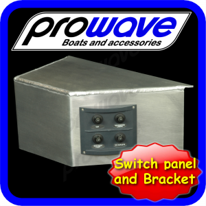 Switch panel, 4 way and alloy bkt 01