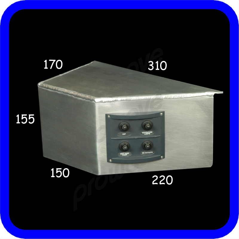 switch panel 4 way and alloy bkt 03