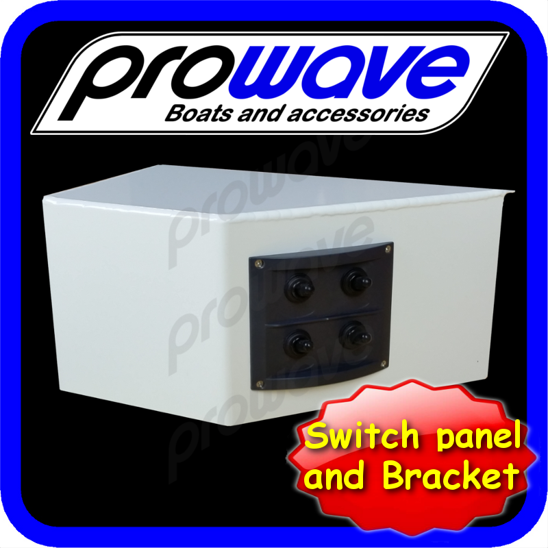 switch panel 4 way and alloy bkt painted 01