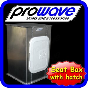 Prowave boat seat box